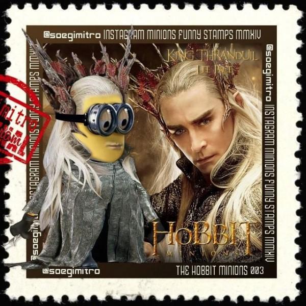 Minions El Hobbit: Thranduil