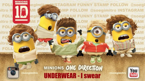 Minions One Direction