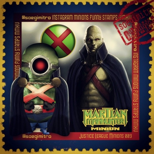 Minions de la Liga de la Justicia: Detective Marciano