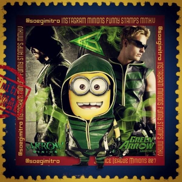 Minions de la Liga de la Justicia: Flecha Verde