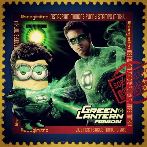 Minions de la Liga de la Justicia: Linterna Verde