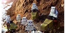 Modelos de papel de Star Wars