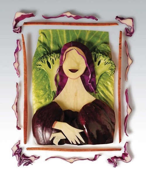 Mona Lisa vegetal