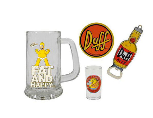 Pack de regalo Los Simpson. Duff Beer