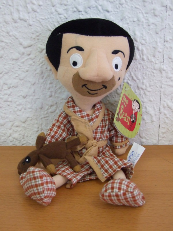 Peluche Mr. Bean en pijama