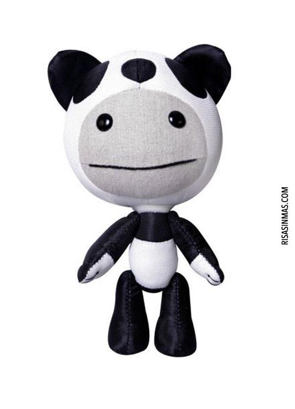 Peluche Sackboy Panda