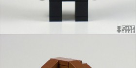 Personajes de Reservoir Dogs hechos con LEGO
