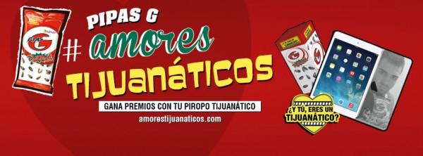 Pipas Grefusa y sus #Amorestijuanaticos