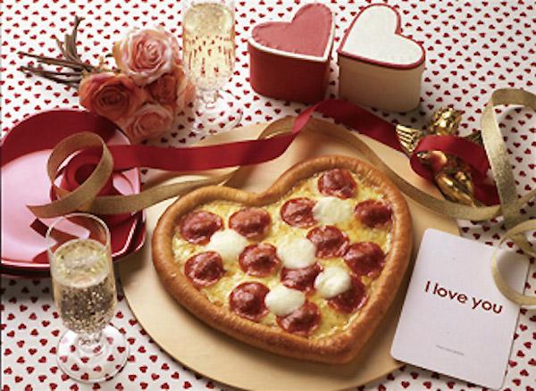 Pizza para San Valentín