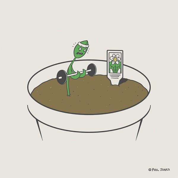 Planta obsesionada