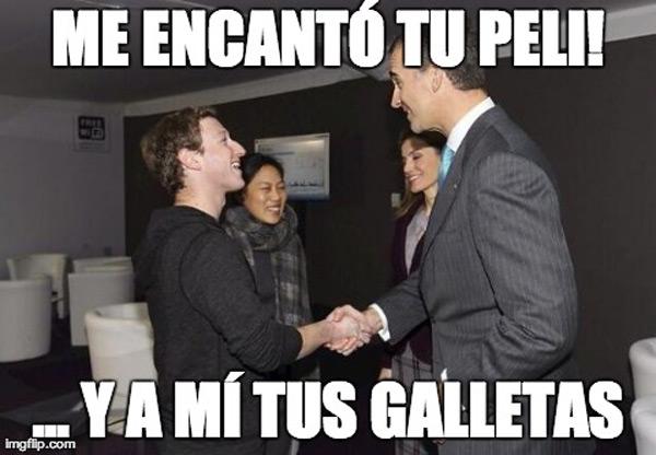 El encuentro del Príncipe Felipe y Mark Zuckerberg