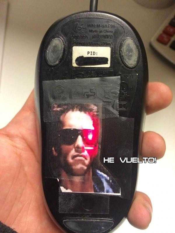 Ratón Terminator: ¡He vuelto!