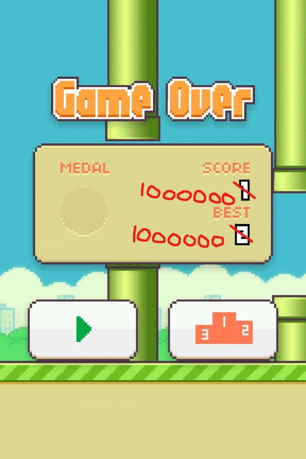Record en Flappy Bird