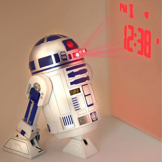 Reloj despertador R2-D2