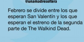 San Valentín y The Walking Dead