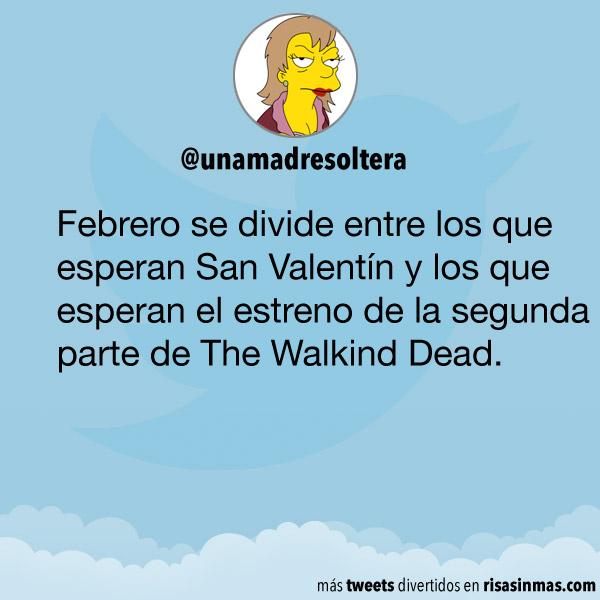 San Valentín y The Walking Dead
