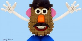Señor Patata de Toy Story hecho con LEGO