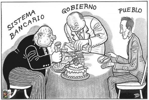 Sistema bancario y pueblo