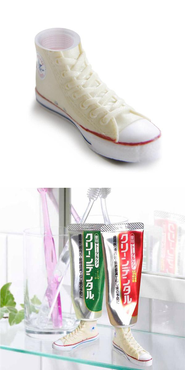 Soporte original para dentífrico
