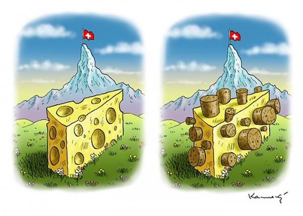 Suiza cierra fronteras