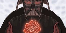 Tarjeta para San Valentín: Darth Vader
