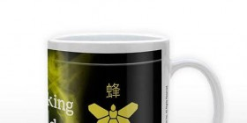 Taza metilamina de Breaking Bad
