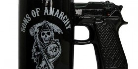 Taza pistola Sons of Anarchy