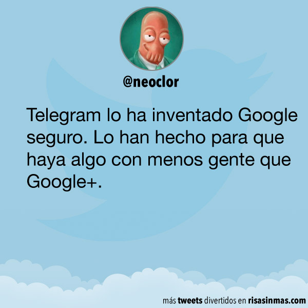 Telegram lo ha inventado Google