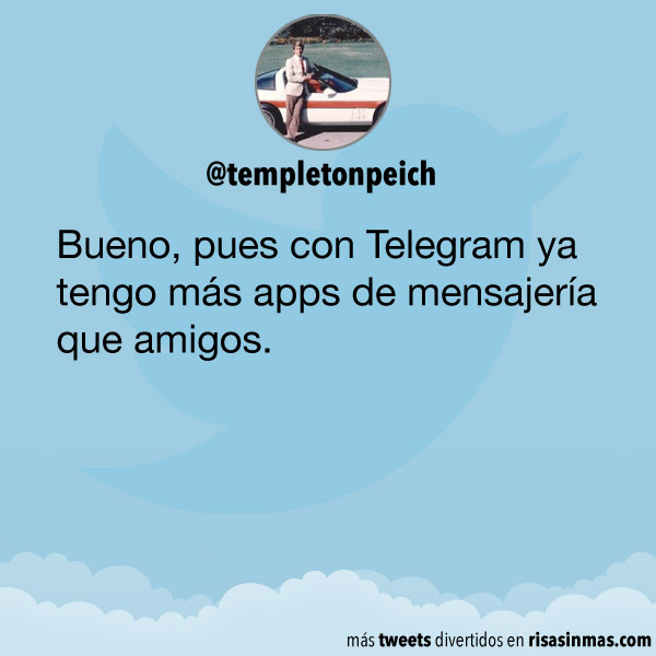 Telegram y amigos