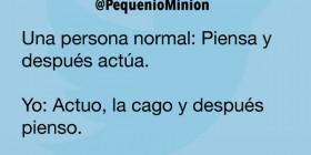 Una persona normal y yo