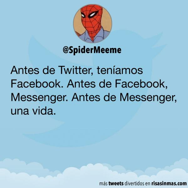 Vida antes de Messenger