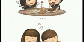 Amar es... engordar juntos