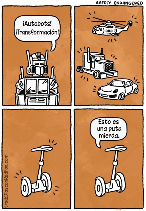 Transformación autobots