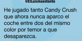 He jugado tanto a Candy Crush