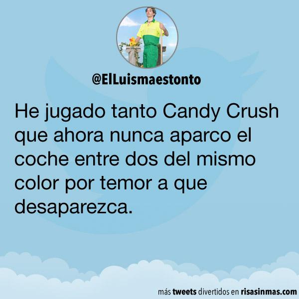 He jugado tanto a Candy Crush