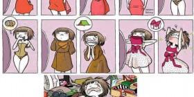Las chicas y la ropa