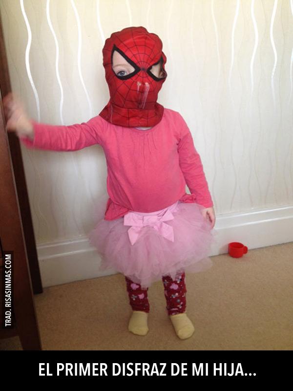 El primer disfraz de mi hija