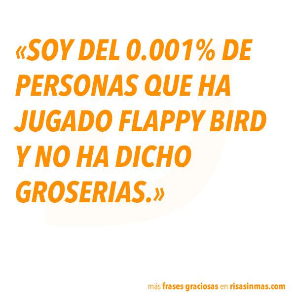 Frases graciosas: Flappy Bird