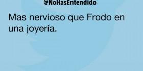 Frodo en una joyería
