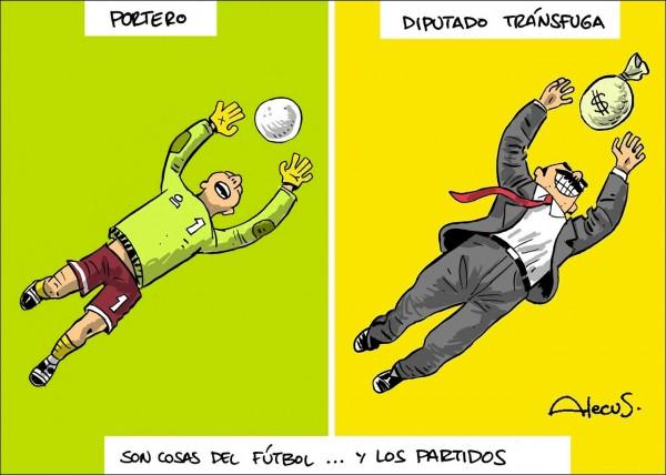 Cosas del fútbol y los partidos