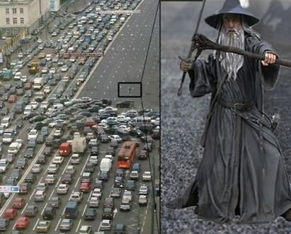 Gandalf: ¡No pasarás!