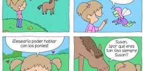 Hablando con ponis
