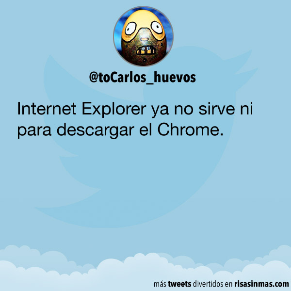 Internet Explorer ya no sirve para nada