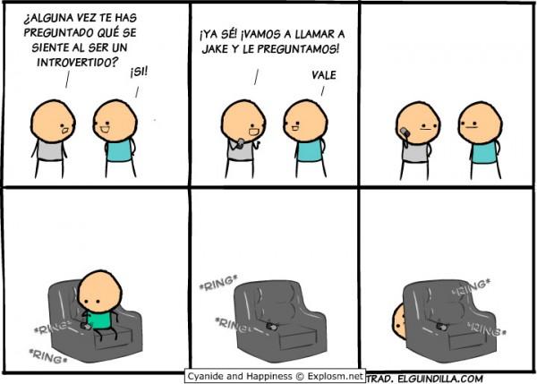 Qué se siente al ser introvertido