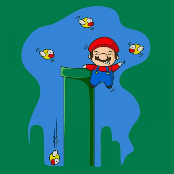 ¡Dejad mis tuberías, malditos Flappy Bird!