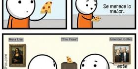 La pizza es arte