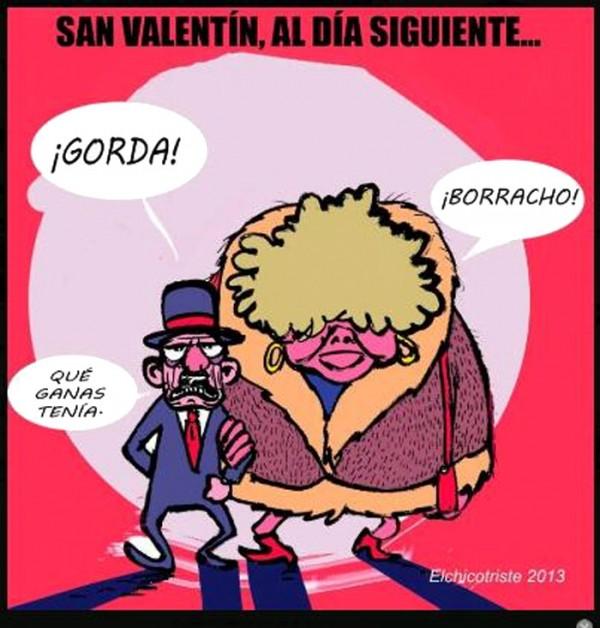 San Valentín, al día siguiente
