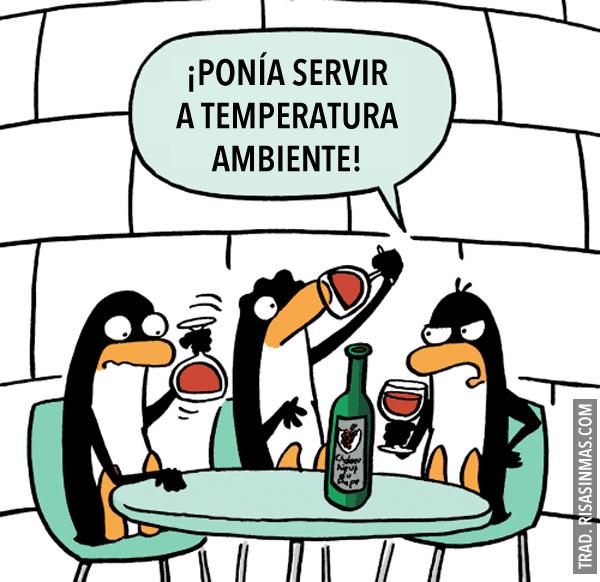Servir a temperatura ambiente