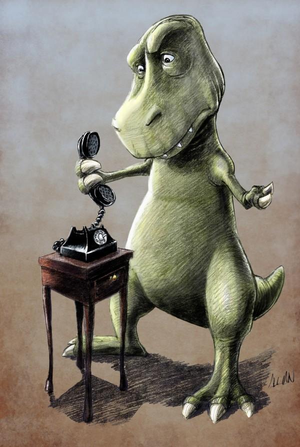 Otro problema de ser un T-Rex