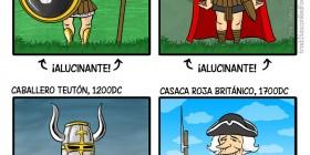 Evolución de los uniformes militares
